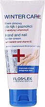Духи, Парфюмерия, косметика Зимний крем для рук и ногтей - Floslek Winter Care Hand And Nail Winter Cream