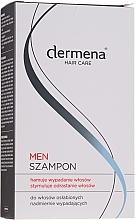 Духи, Парфюмерия, косметика Шампунь для мужчин стимулирующий рост волос - Dermena Hair Care Men Shampoo