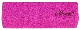 Духи, Парфюмерия, косметика Четырехсторонний полировочный блок для ногтей, неоновый малиновый - M-sunly