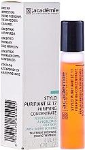 Духи, Парфюмерия, косметика Очищающий карандаш Ирис-Цинк 17 - Academie Purifying Concentrate IZ 17