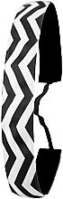 Духи, Парфюмерия, косметика Повязка на голову, черно-белая - Ivybands Chevron Black White Hair Band