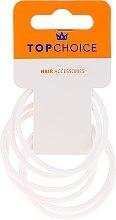 Духи, Парфюмерия, косметика Резинки для волос 22807, белые - Top Choice