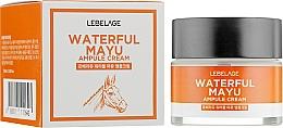 Духи, Парфюмерия, косметика Крем для лица с экстрактом лошадиного масла - Lebelage Waterful Mayu Ampule Cream