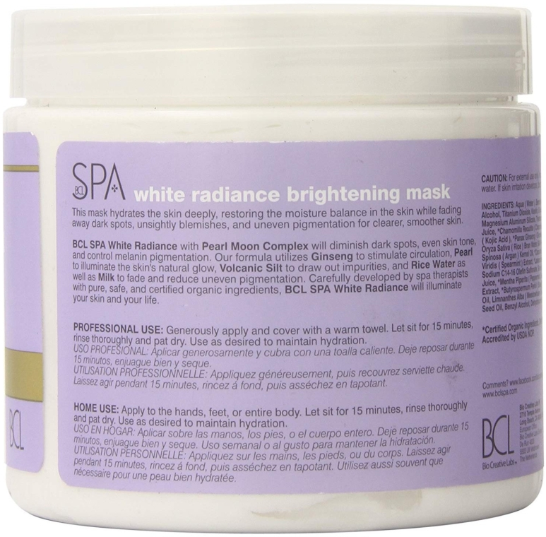 Осветляющая маска - BCL Spa White Radiance Brightening Mask — фото N2