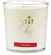 Духи, Парфюмерия, косметика Ароматическая свеча - Chic Parfum Luxury Collection Portofino Candle