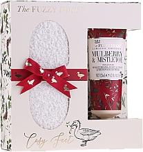 Духи, Парфюмерия, косметика Набор - Baylis & Harding The Fuzzy Duck Winter Wonderland Foot Care Set (f/lot/50ml + socks)