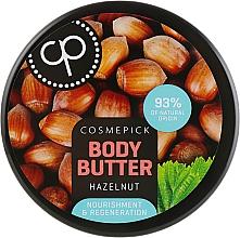 Духи, Парфюмерия, косметика Регенерирующее масло для тела с экстрактом лесного ореха - Cosmepick Body Butter Hazelnut