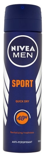 """Дезодорант-антиперспирант """"Спорт"""" - Nivea for Men Sport Deodorant Spray — фото N1"""