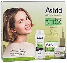 Духи, Парфюмерия, косметика Набор - Astrid Citylife Detox (cr/50ml + m/water/400ml)