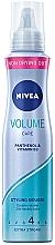 Духи, Парфюмерия, косметика Мусс для волос «Эффектный объем» с защитой кератина - Nivea Hair Care Volume Sensation Styling Mousse