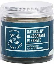 Духи, Парфюмерия, косметика Дезодорант-крем без запаха - Cztery Szpaki