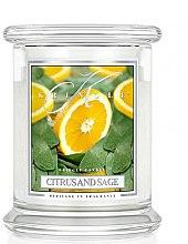 Духи, Парфюмерия, косметика Ароматическая свеча в банке - Kringle Candle Citrus And Sage