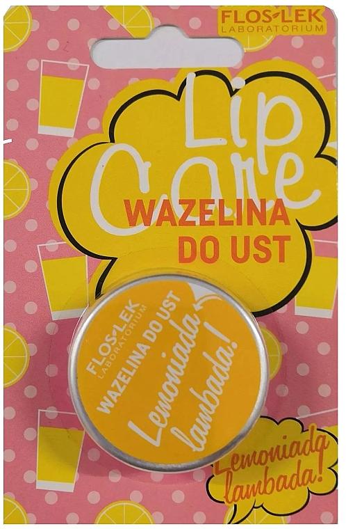 Вазелин для губ косметический - Floslek Lip Care Lemoniada Lambada Lip Vaseline — фото N1