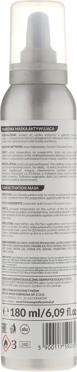 Маска-активатор в пене для лица - Farmona Cocoon Mask — фото N2