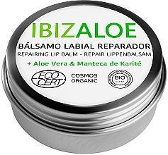Духи, Парфюмерия, косметика Увлажняющий бальзам для губ - Ibizaloe Repairing Lip Balm