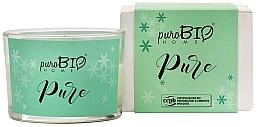 Духи, Парфюмерия, косметика Органическая свеча - PuroBio Home Organic Pure