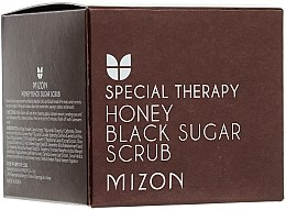 Духи, Парфюмерия, косметика Скраб с черным сахаром и медом - Mizon Honey Black Sugar Scrub