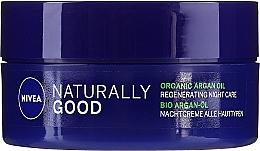 Духи, Парфюмерия, косметика Восстанавливающий ночной крем для всех типов кожи - Nivea Naturally Good Night Regeneration Care