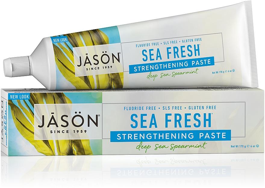 Зубная паста с морскими водорослями - Jason Natural Cosmetics Toothpaste Deep Sea Spearmint — фото N1