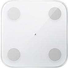 Духи, Парфюмерия, косметика Напольные весы, белые - Xiaomi Mi Body Composition Scale 2