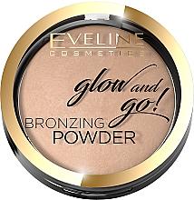 Духи, Парфюмерия, косметика Бронзирующая пудра - Eveline Cosmetics Glow & Go Bronzing Powder