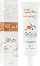 Духи, Парфюмерия, косметика Улиточный крем для кожи вокруг глаз - Esfolio Nutri Snail Daily Eye Cream