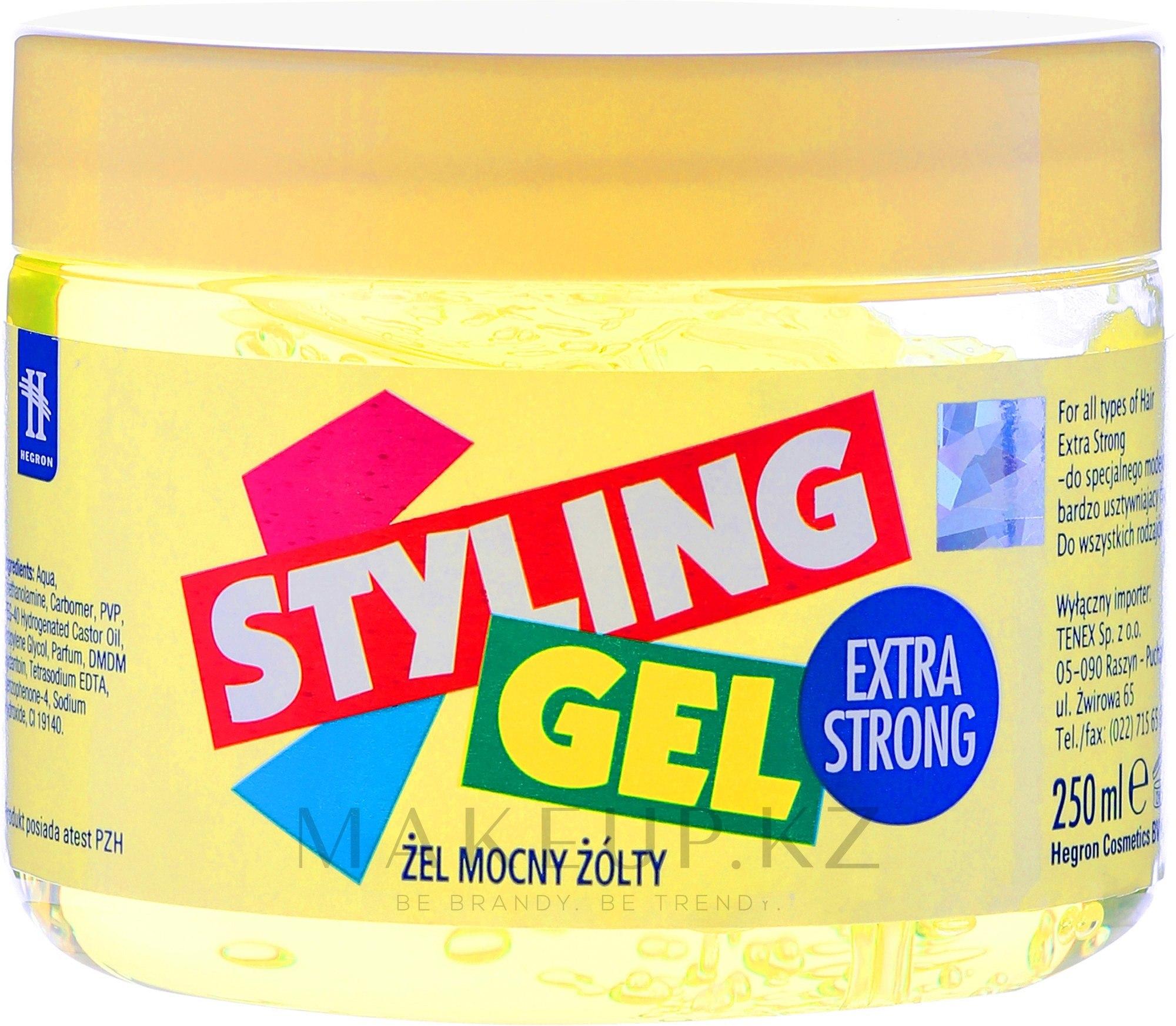 Гель для моделирования волос - Tenex Styling Gel — фото 250 ml