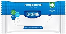 Духи, Парфюмерия, косметика Антибактериальные влажные салфетки, 15 шт - Aksan Deep Fresh Antibacterial Wet Wipes