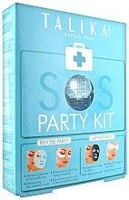Духи, Парфюмерия, косметика Набор - Talika SOS Party Kit (mask/20g + eye/patch/2x2шт. + mask/25g)