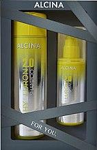 Духи, Парфюмерия, косметика Набор - Alcina Hyaluron 2.0 Hair Set (shm/250ml + hair/spray/100ml)