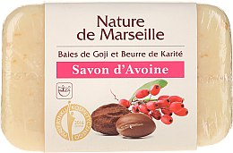 Духи, Парфюмерия, косметика Овсяное мыло с запахом ягод годжи и масла ши - Nature de Marseille Soap