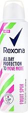Духи, Парфюмерия, косметика Антиперспирант-спрей - Rexona Fruit Spin Antiperspirant Deodorant Spray