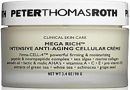 Духи, Парфюмерия, косметика Антивозрастной крем для лица - Peter Thomas Roth Mega-Rich Intensive Anti-Aging Cellular Cream