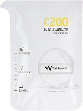 Духи, Парфюмерия, косметика Спонж-пилинг для лица с витамином С - Wish Formula C200 Bubble Peeling Pad