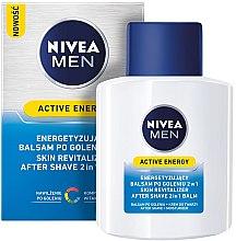 """Духи, Парфюмерия, косметика Бальзам после бритья двойного действия """"Заряд энергии"""" - Nivea For Men Active Energy Skin Revitalizer After Shave Balm"""