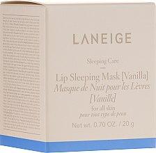 """Духи, Парфюмерия, косметика Интенсивно восстанавливающая ночная маска для губ """"Ваниль"""" - Laneige Sleeping Care Lip Sleeping Mask Vanilla"""