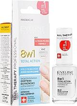 Духи, Парфюмерия, косметика Средство для восстановления ногтей 8в1 - Eveline Cosmetics Nail Therapy Total Action 8 in 1