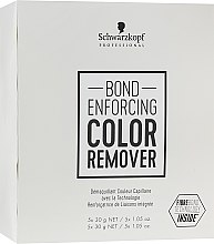 Духи, Парфюмерия, косметика Средство для удаления искусственного пигмента с волос - Schwarzkopf Professional Bond Enforcing Color Remover