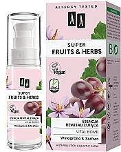 Духи, Парфюмерия, косметика Восстанавливающая эссенция для лица - AA Super Fruits & Herbs Vital Bomb