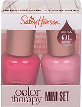 Духи, Парфюмерия, косметика Набор - Sally Hansen Color Therapy Nail Polish Mini Set (nail/polish/2x5ml)