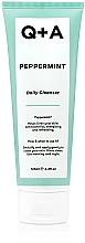 Духи, Парфюмерия, косметика Очищающее средство для лица с мятой - Q+A Peppermint Daily Cleanser