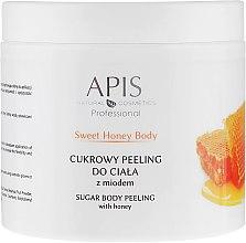 Духи, Парфюмерия, косметика Сахарный пилинг для тела - APIS Professional Sweet Honey Body Sugar Peeling