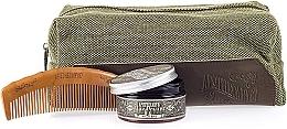 Духи, Парфюмерия, косметика Набор - Apothecary 87 Dopp Bag Hair Clay Pomade Kit (paste/100ml + comb + pouch)