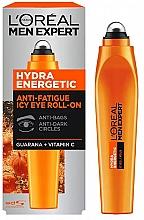 Духи, Парфюмерия, косметика Роликовый аппликатор вокруг глаз - L'Oreal Paris Men Expert Hydra Energetic Roll-on Eyes
