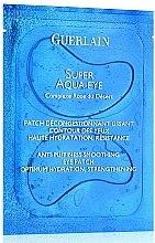 Духи, Парфюмерия, косметика Маска-пластырь для кожи вокруг глаз - Guerlain Super Aqua-Eye Anti-Puffness Smoothing Eye Patch