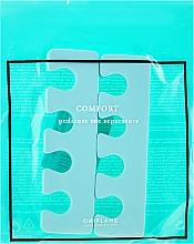 Духи, Парфюмерия, косметика Разделители для педикюра, мятного цвета - Oriflame Pedicure Toe Separators