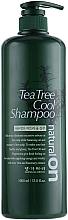 Духи, Парфюмерия, косметика Охлаждающий шампунь на основе чайного дерева - Daeng Gi Meo Ri Naturalon Tea Tree Cool Shampoo