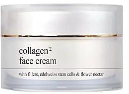 Духи, Парфюмерия, косметика Крем для лица с коллагеном - Yellow Rose Collagen2 Face Cream