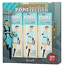 Духи, Парфюмерия, косметика Набор - Benefit The Porefessional Face Primer Travel Trio (primer/7.5mlx3)