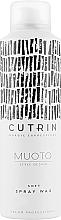Духи, Парфюмерия, косметика Спрей-воск для волос - Cutrin Muoto Soft Wax Spray